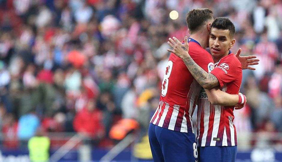 Temporada 18/19 | Atlético de Madrid - Leganés | Saúl y Correa