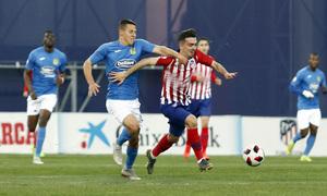 Temporada 18/19   Atlético de Madrid B - Fuenlabrada   Joaquín