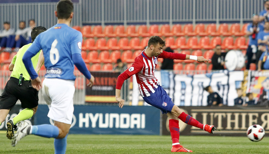 Temporada 18/19 | Atlético de Madrid B - Fuenlabrada | Cristian