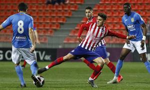 Temporada 18/19   Atlético de Madrid B - Fuenlabrada   Pinchi