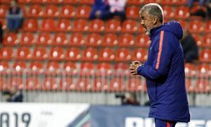 Temporada 18/19   Atlético de Madrid B - Fuenlabrada   Óscar Fernández