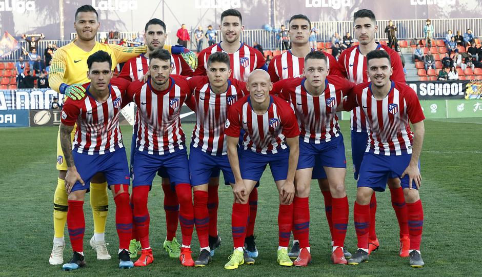 Temporada 18/19 | Atlético de Madrid B - Fuenlabrada | Once