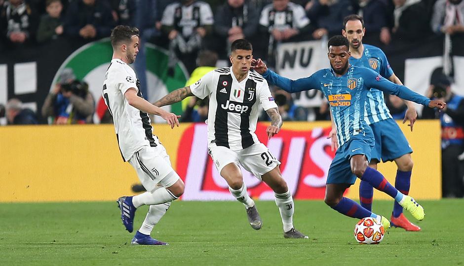Temporada 18/19   Juventus - Atlético de Madrid   Lemar