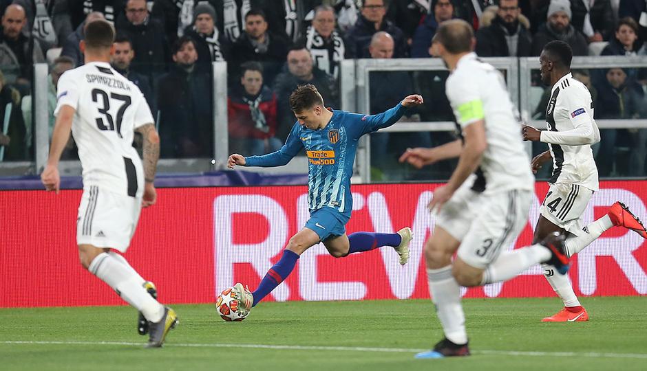 Temporada 18/19   Juventus - Atlético de Madrid   Arias