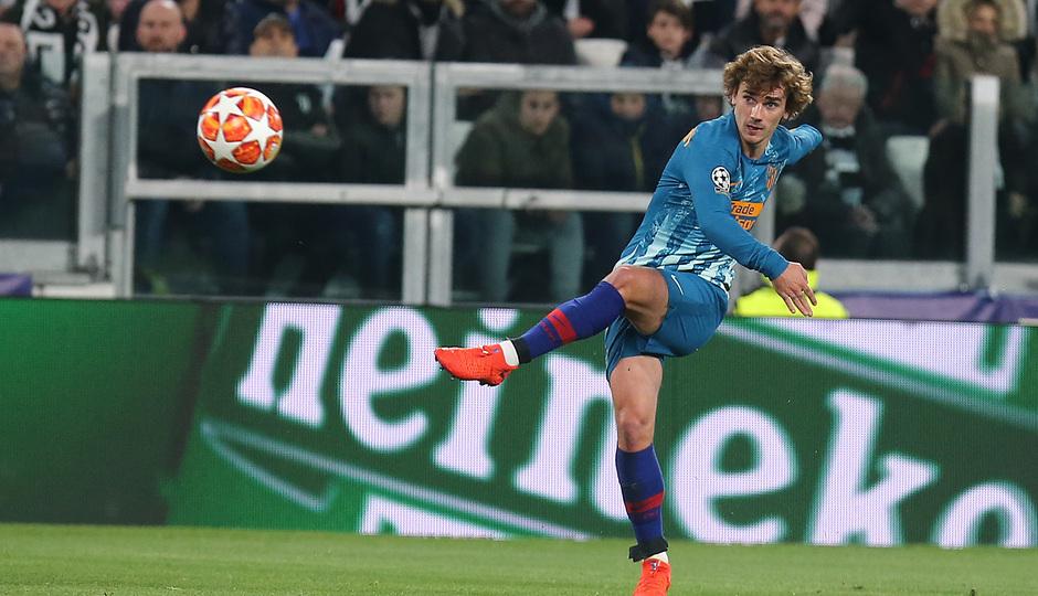 Temporada 18/19   Juventus - Atlético de Madrid   Griezmann