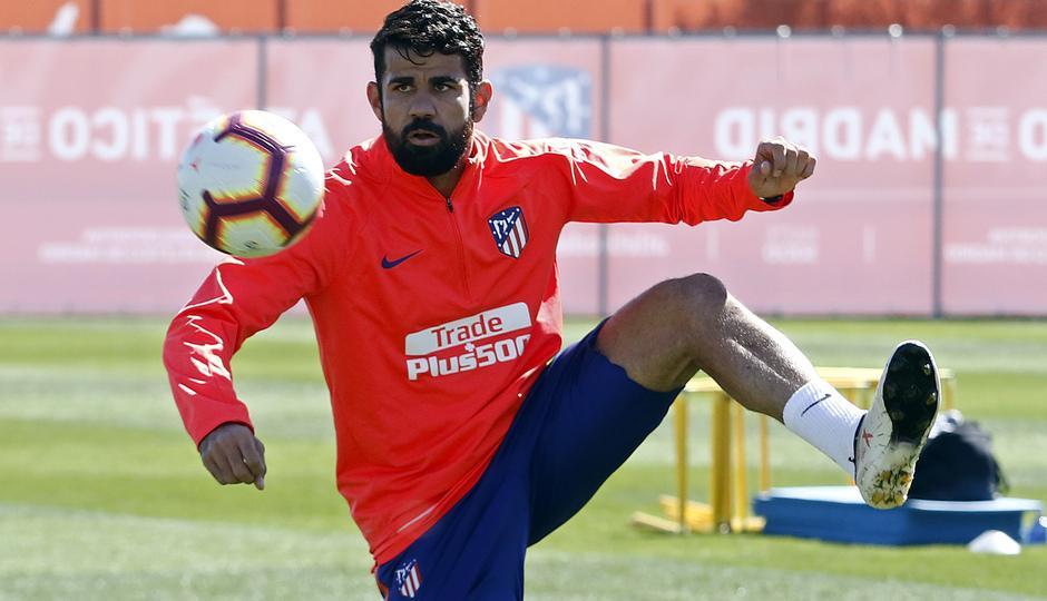 Temporada 18/19 | Entrenamiento del primer equipo | 13/03/2019 | Diego Costa