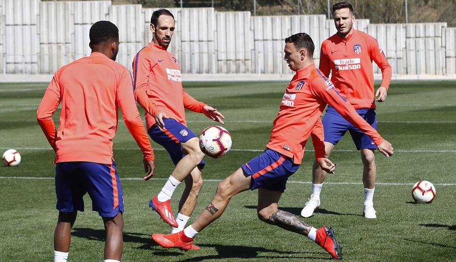 Temporada 18/19 | Entrenamiento del primer equipo |  14/03/2019 | Juanfran