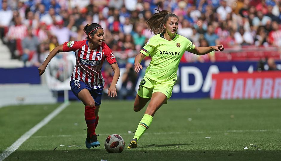 Temporada 18/19 | Atlético de Madrid Femenino - FC Barcelona | Kenti