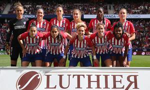 Temporada 18/19 | Atlético de Madrid Femenino - FC Barcelona | Once inicial