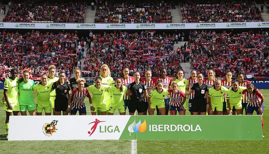 Temporada 18/19 | Atlético de Madrid Femenino - FC Barcelona | Equipos