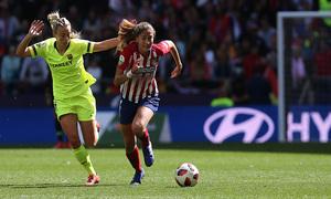 Temporada 18/19 | Atlético de Madrid Femenino - Barcelona | Laia