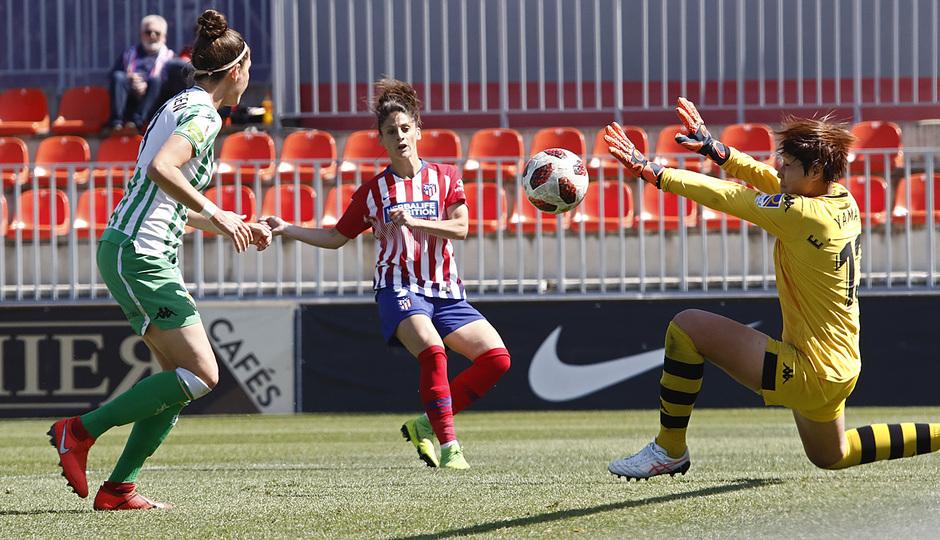 Temporada 18/19 | Atlético de Madrid Femenino - Real Betis | Gol Esther