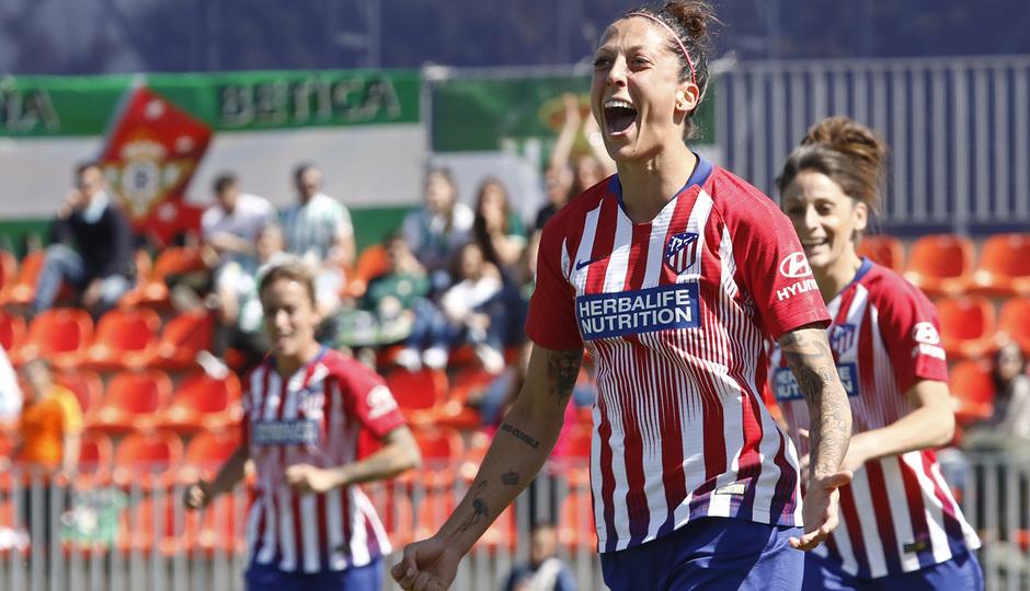 Temporada 18/19 | Atlético de Madrid Femenino - Real Betis | Jenni Hermoso