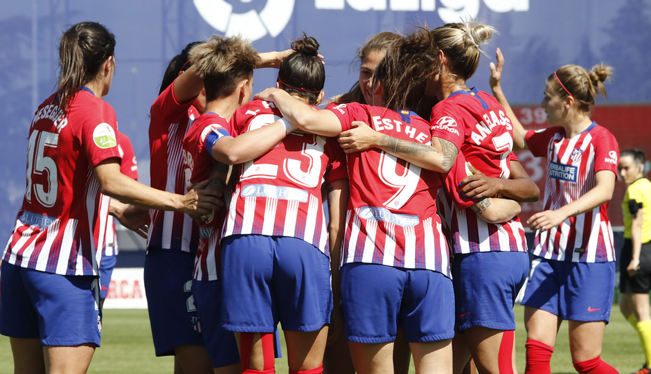 Temporada 18/19 | Atlético de Madrid Femenino - Real Betis | Gol Jenni Hermoso