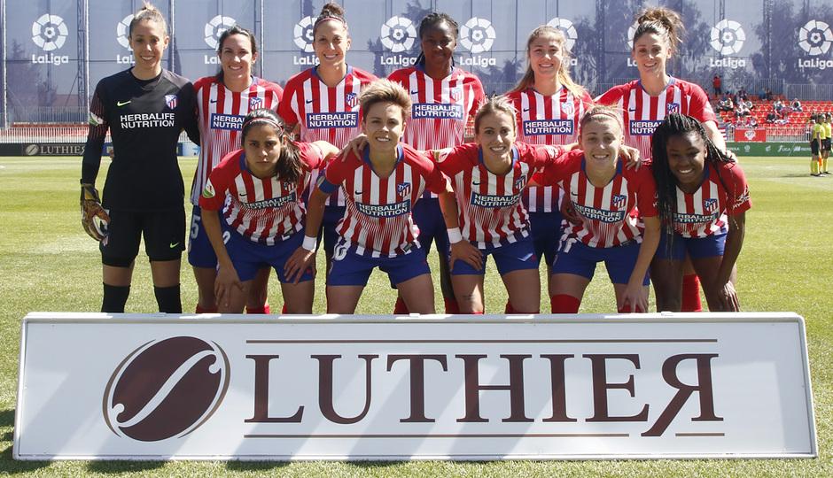 Temporada 18/19 | Atlético de Madrid Femenino - Real Betis | Once inicial