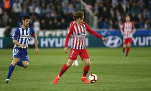 Temporada 18/19   Alavés - Atlético de Madrid   Griezmann
