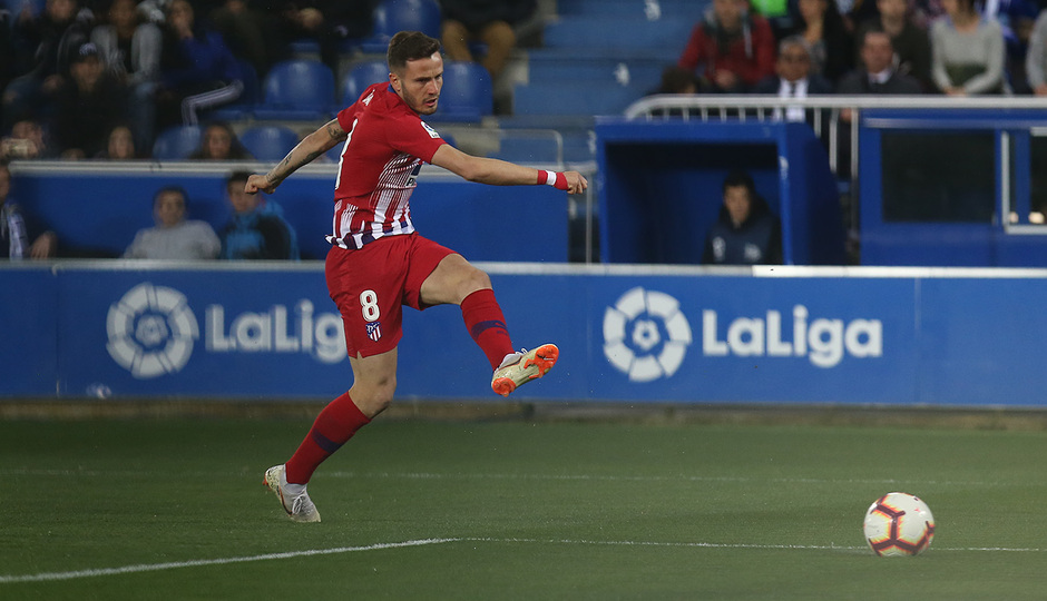 Temporada 18/19 | Alavés - Atlético de Madrid | Saúl