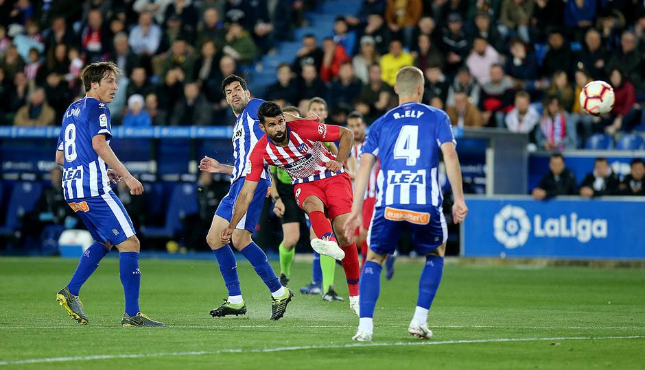 Temporada 18/19 | Alavés - Atlético de Madrid | Diego Costa