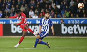Temporada 18/19   Alavés - Atlético de Madrid   Thomas