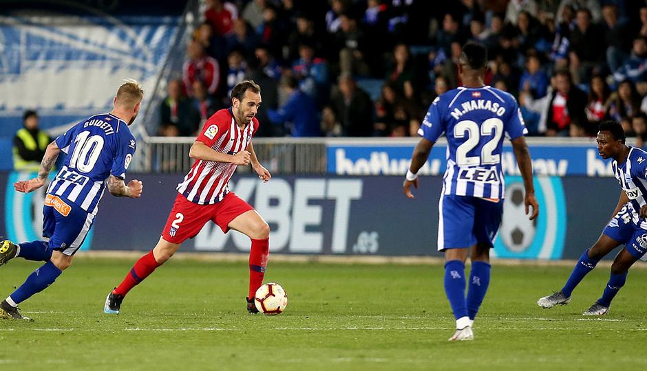 Temporada 18/19 | Alavés - Atlético de Madrid | Godín