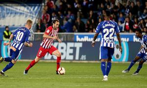 Temporada 18/19   Alavés - Atlético de Madrid   Godín