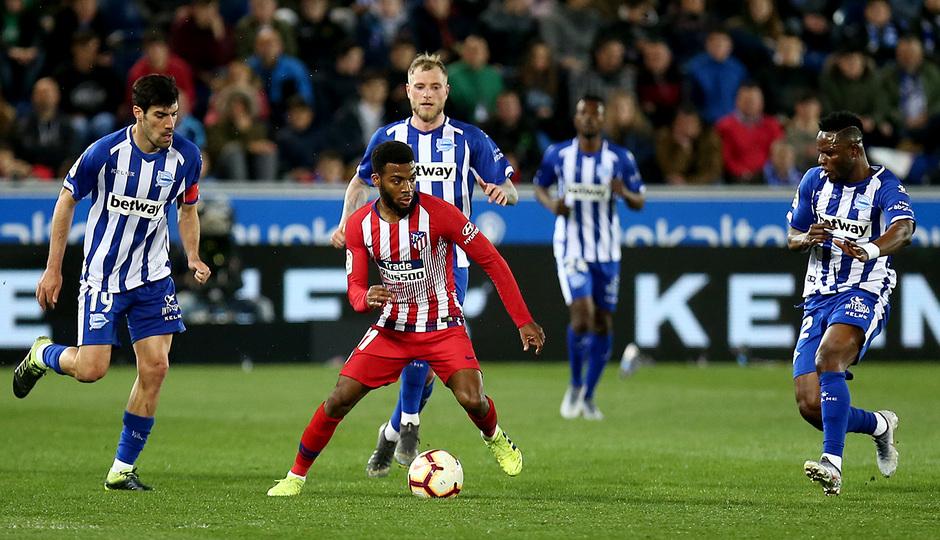 Temporada 18/19 | Alavés - Atlético de Madrid | Lemar