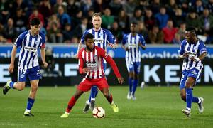 Temporada 18/19   Alavés - Atlético de Madrid   Lemar