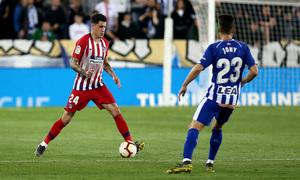 Temporada 18/19   Alavés - Atlético de Madrid   Giménez
