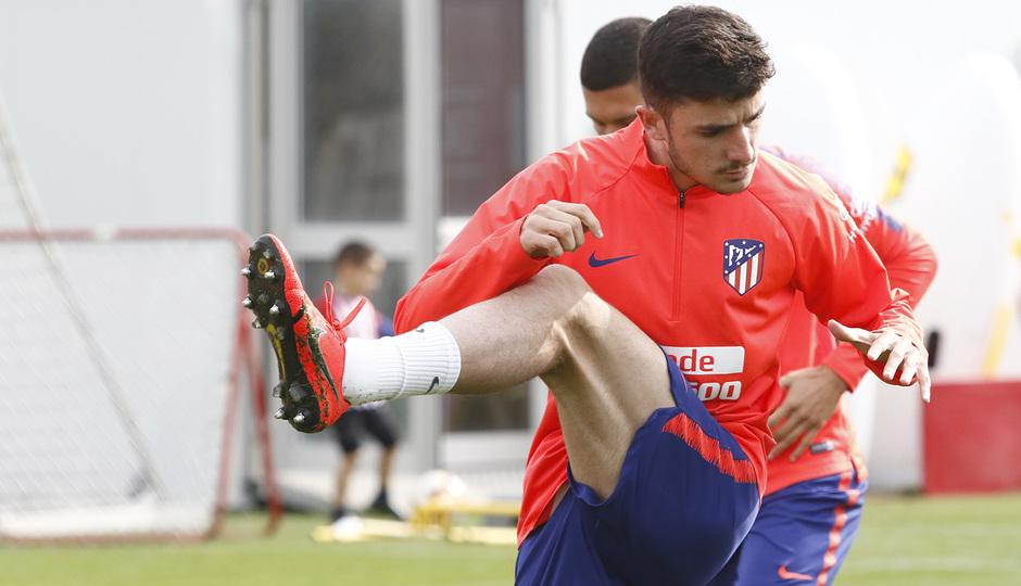 Temporada 18/19 | Entrenamiento del primer equipo | 31/03/2019 | Rubén Fernández