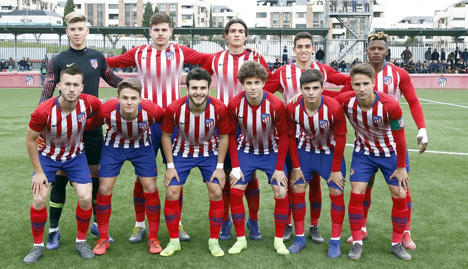 Temporada 18/19   Atlético de Madrid - UD Santa Marta   Once