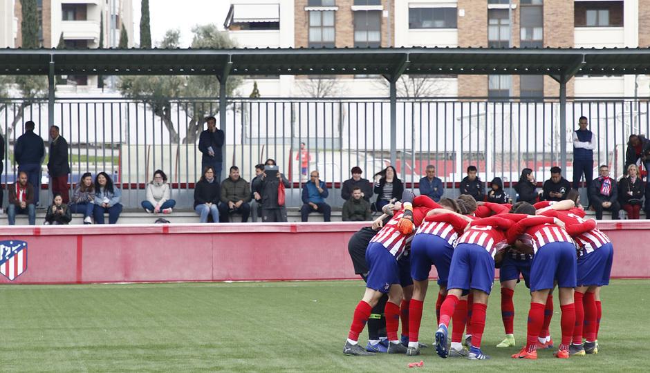 Temporada 18/19   Atlético de Madrid - UD Santa Marta   Piña