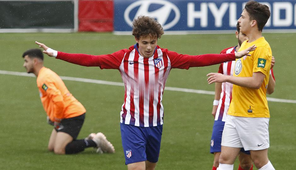 Temporada 18/19   Atlético de Madrid - UD Santa Marta   Roro