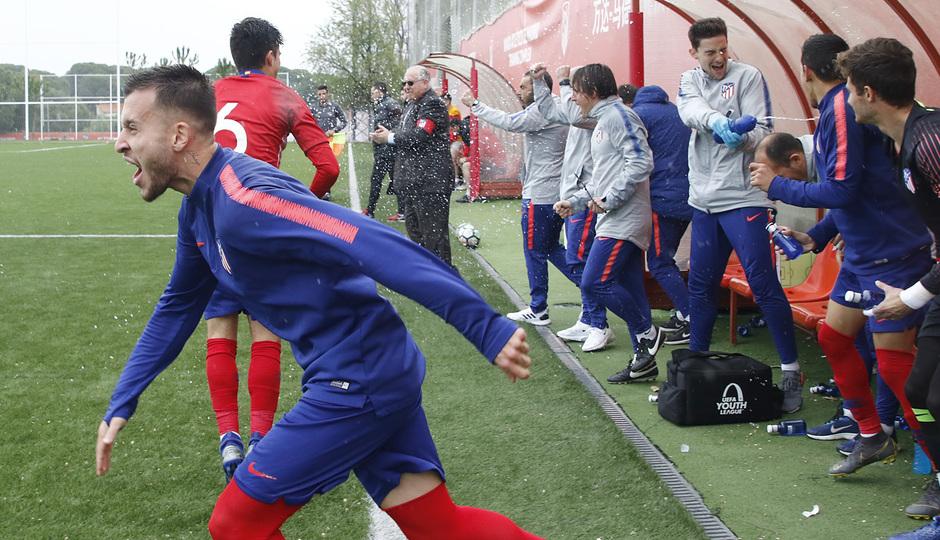 Temporada 18/19 | Atlético de Madrid - UD Santa Marta | Ricard