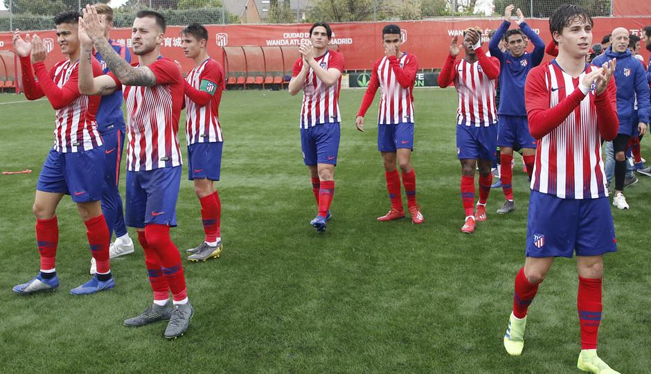 Temporada 18/19   Atlético de Madrid - UD Santa Marta   Campeones