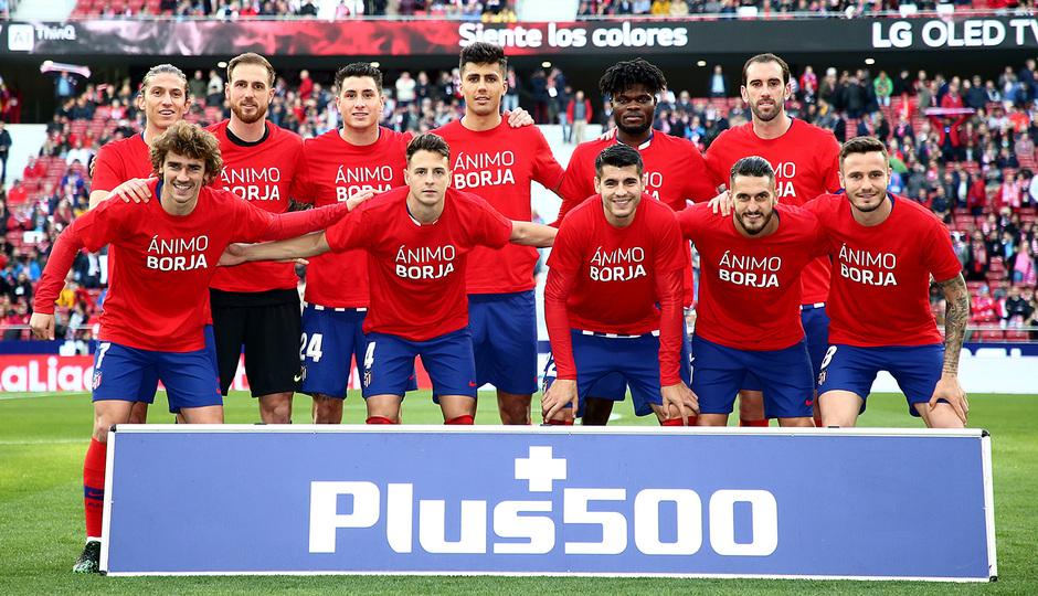 Temporada 18/19 | Atlético de Madrid - Girona | Once