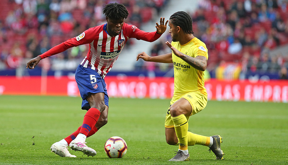 Temporada 18/19 | Atlético de Madrid - Girona | Thomas