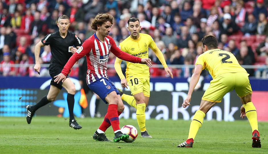 Temporada 18/19 | Atlético de Madrid - Girona | Griezmann