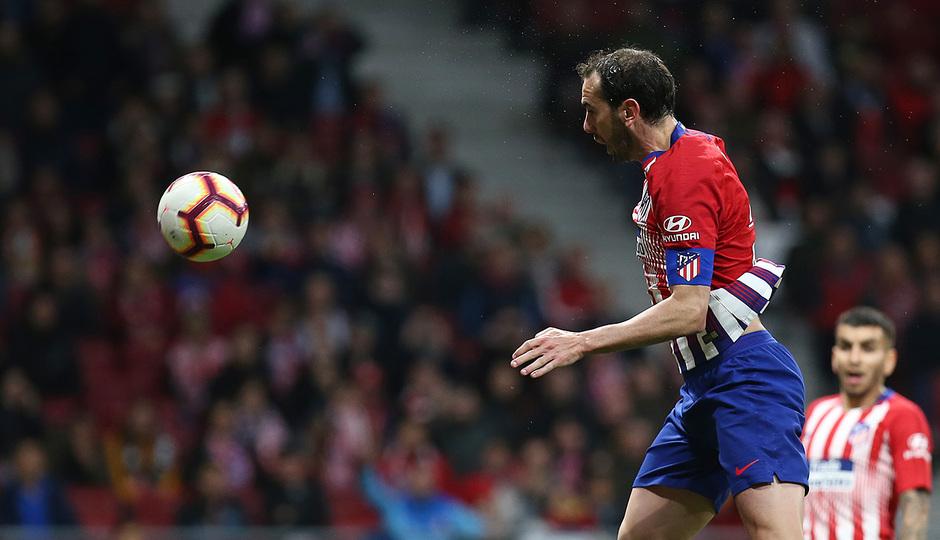 Temporada 18/19 | Atlético de Madrid - Girona | Godín