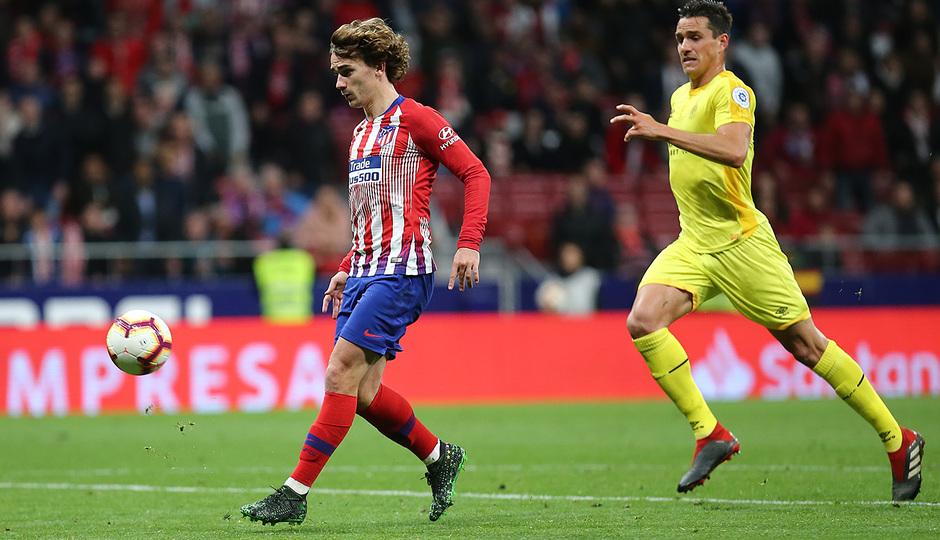 Temporada 18/19 | Atlético de Madrid - Girona | Gol Griezmann