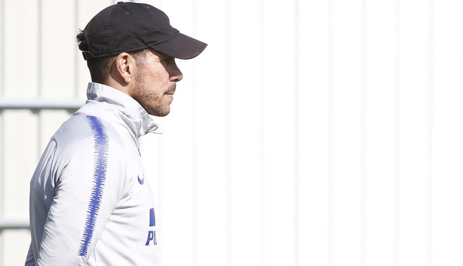Temporada 18/19 | Entrenamiento del primer equipo | 03/04/2019 | Simeone