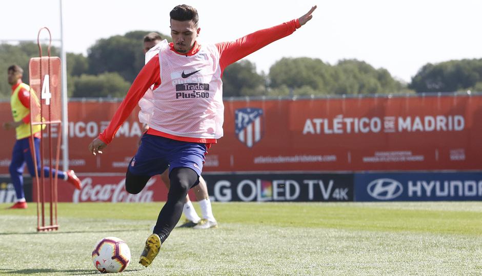 Temporada 18/19 | Entrenamiento del primer equipo | 03/04/2019 | Joaquín