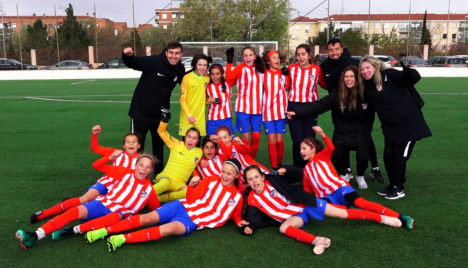 Temporada 18/19 | Atlético de Madrid Femenino Alevín A campeón de liga | GALERÍA ACADEMIA 2019
