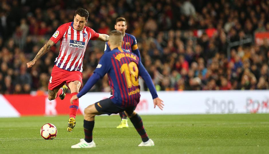 Temp 18/19 | FC Barcelona - Atlético de Madrid | Giménez