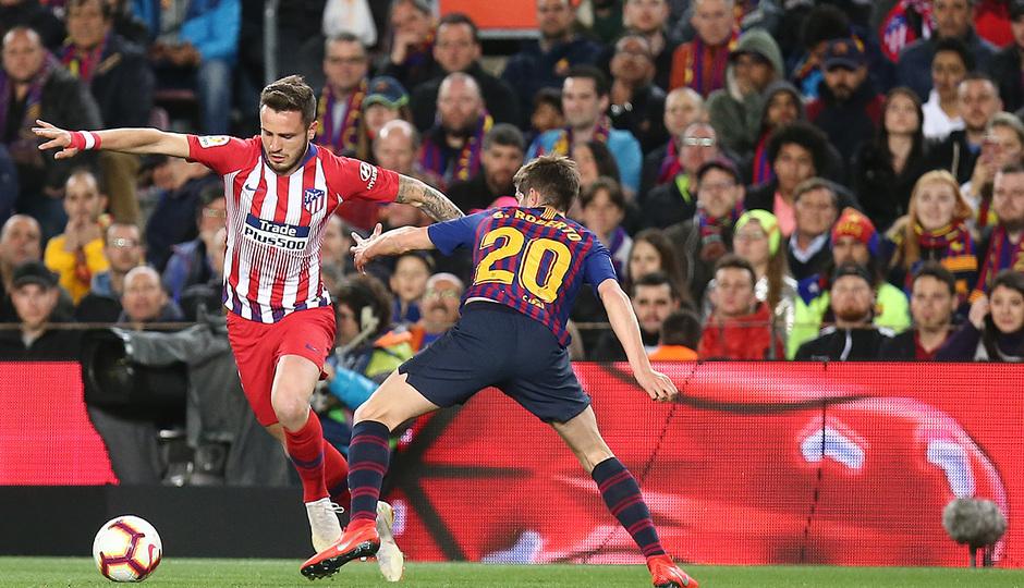 Temp 18/19 | FC Barcelona - Atlético de Madrid | Saúl