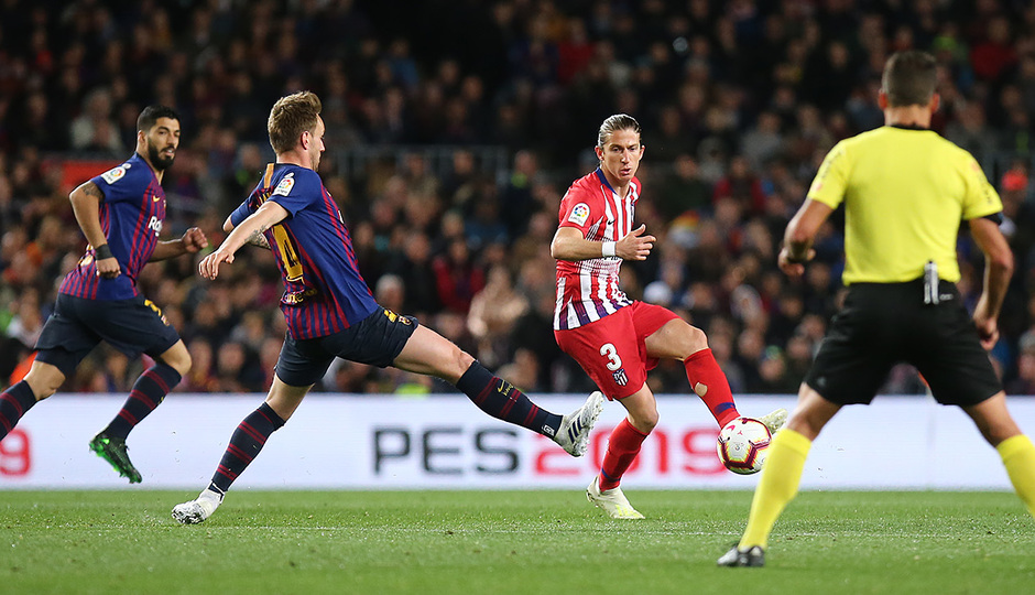 Temp 18/19 | FC Barcelona - Atlético de Madrid | Filipe Luis