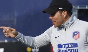 Temporada 18/19 | 08/04/2019 | Entrenamiento del primer equipo | Simeone