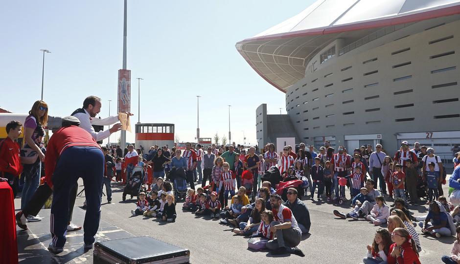 Temporada 18/19 | Atlético de Madrid - Celta | Día del Niño | Fan zone | Espectáculo