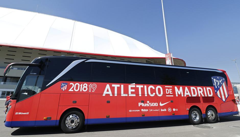 Temporada 18/19 | Atlético de Madrid - Celta | Día del Niño | Fan zone | Autobús