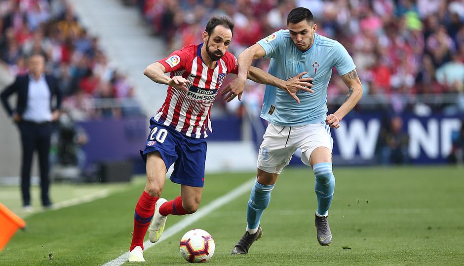 Temporada 18/19 | Atlético de Madrid - Celta | Día del Niño | Juanfran
