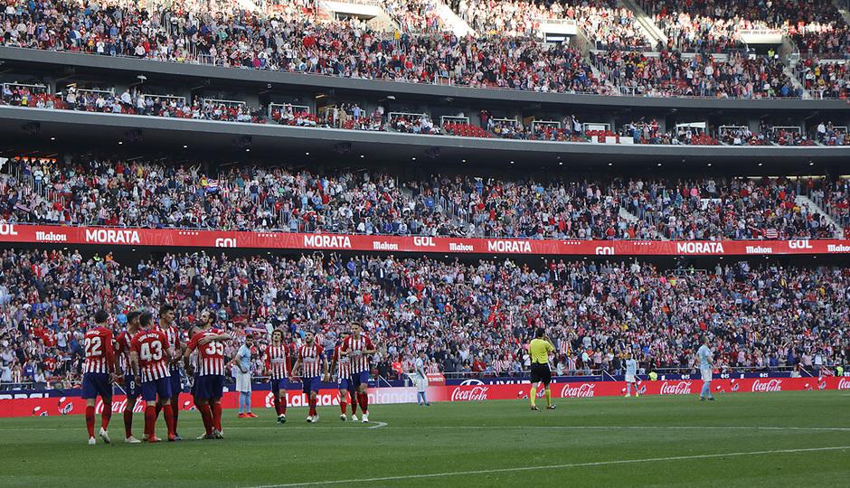 Temporada 18/19 | Atlético de Madrid - Celta | Día del Niño | Piña